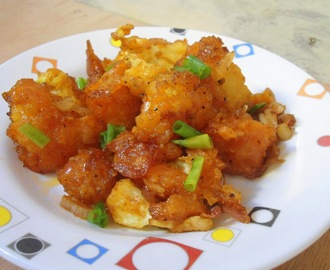 Gobi Manchurian (Dry Version) | How to make gobi/cauliflower manchurian