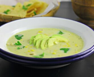 Emerald Corn Chowder
