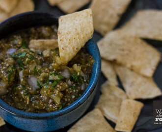 Roasted Tomatillo Salsa