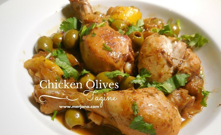 Algerian Chicken with Olives Tagine