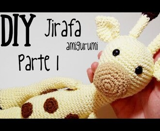 DIY Jirafa Parte 1 amigurumi crochet/ganchillo (tutorial)