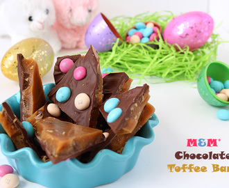 M&M® Chocolate Toffee Bark