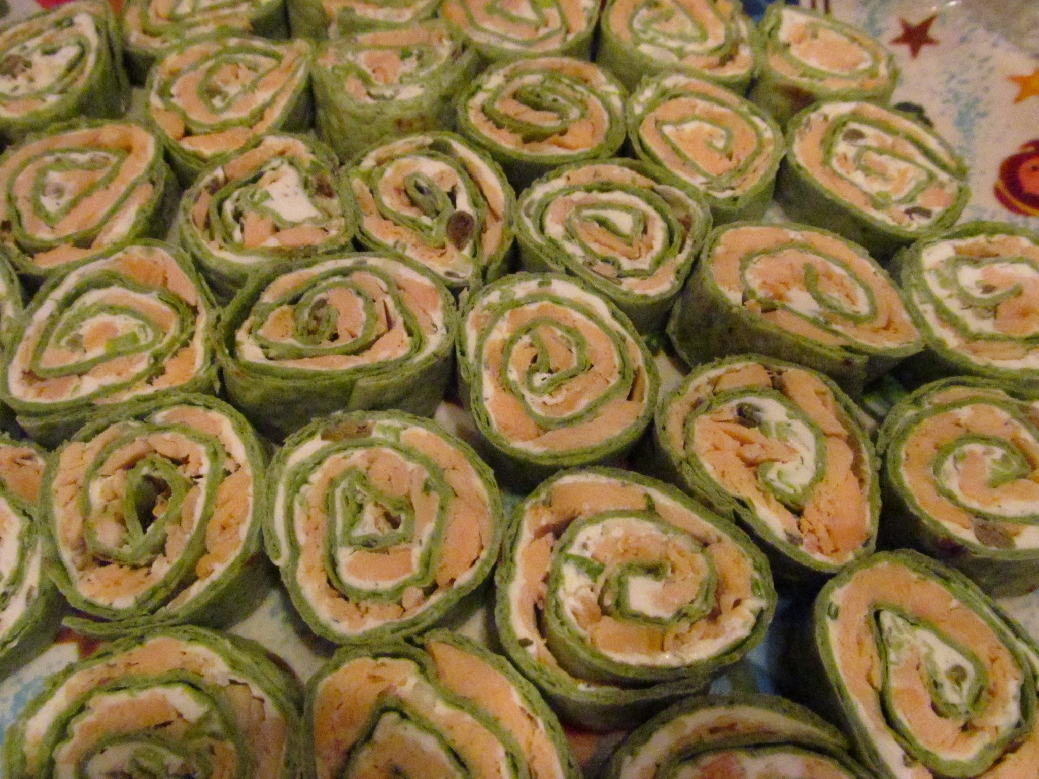 Savings for Sisters #171 - Salmon Pinwheels