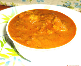 Amritsari spicy chicken masala curry / North Indian style chicken curry