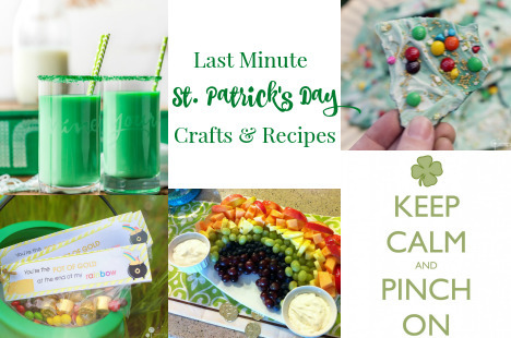 Last Minute St. Patrick's Day Crafts and Recipes