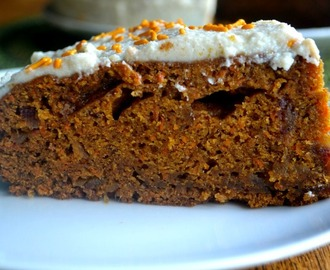 Comment on Salted Caramel Carrot Cake by Val - Corn, Beans, Pigs and Kids