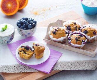 Muffin light ai mirtilli