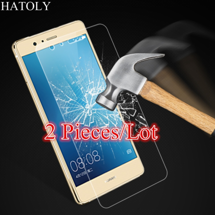 Glass Huawei P9 Lite Tempered Glass for Huawei P9 Lite Screen Protector for Huawei P9 Lite 2016 Glass HD Film HATOLY 2Pieces ^
