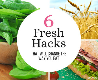 Six fresh hacks that will change the way you eat + Enter to Win a $25 SUBWAY Gift Card!