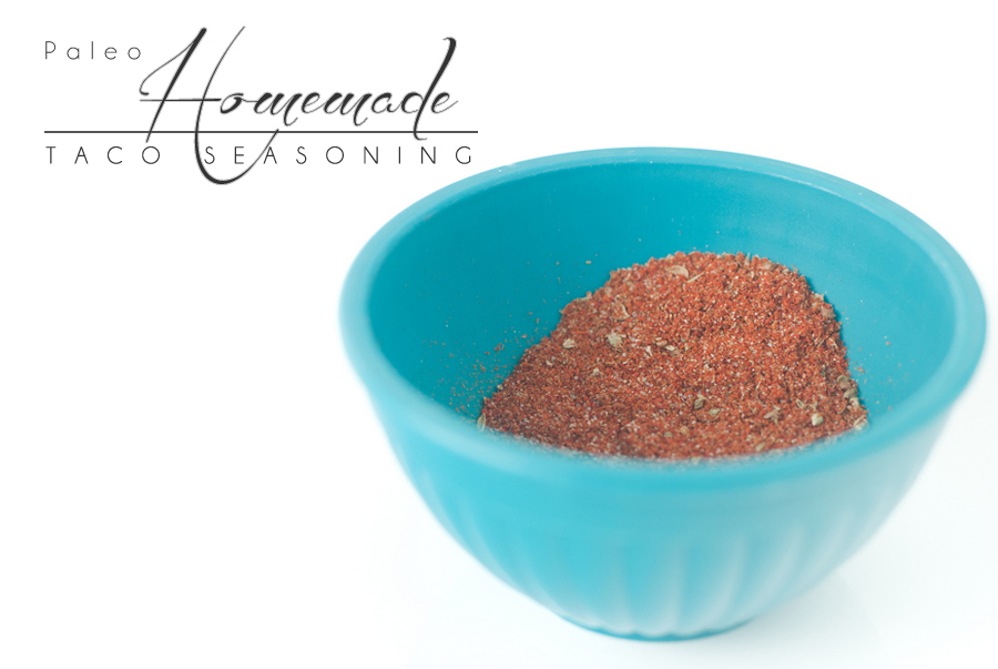 Paleo Homemade Taco Seasoning