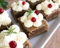Pepparkaksbrownies