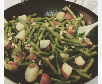 Gladness and Simplicity of Heart + Garlic & Almond Green Beans Recipe