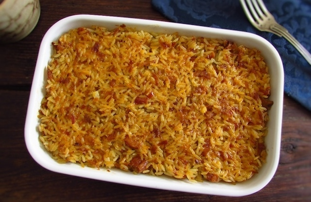 Arroz com atum no forno | Food From Portugal
