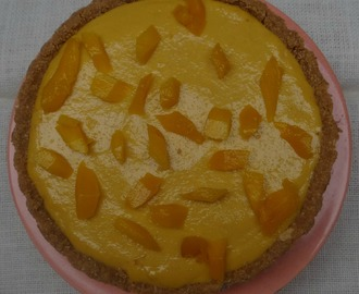 No Bake Mango Cheesecake