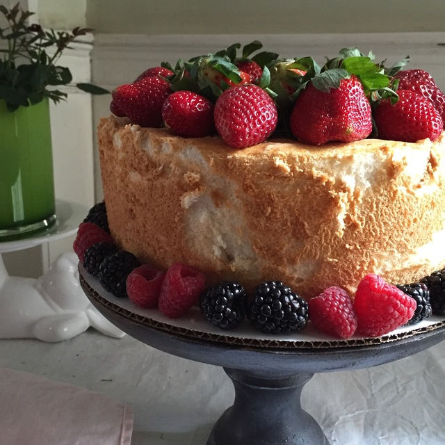 Happy First Day Of Spring An Angel Food Cake To Celebrate