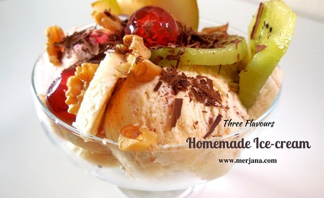 Homemade Ice-cream without machine