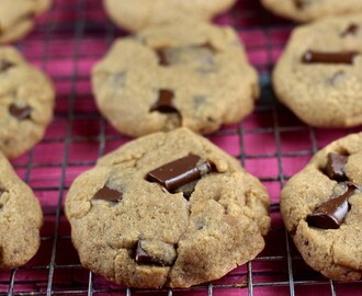 Vegan & GF Classic Chocolate Chip Cookies