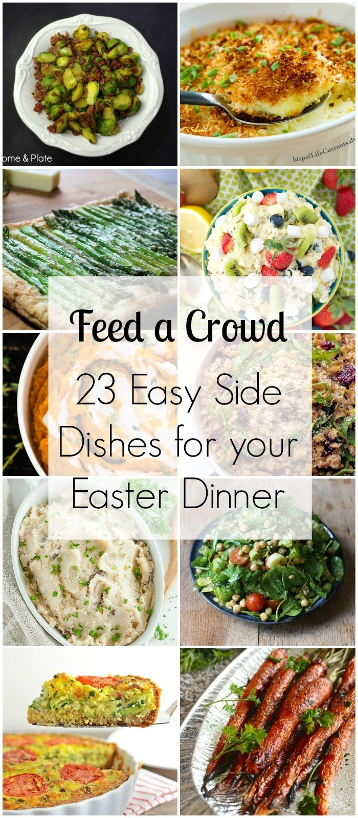 23 Easy Side Dishes for your Easter Dinner - Feed a Crowd