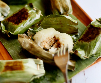 LEMPER AYAM / STICKY RICE CAKE WITH CHICKEN