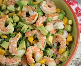 Shrimp, Mango & Avocado Salad