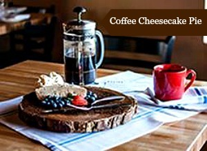 Coffee Cheesecake Pie #Recipe