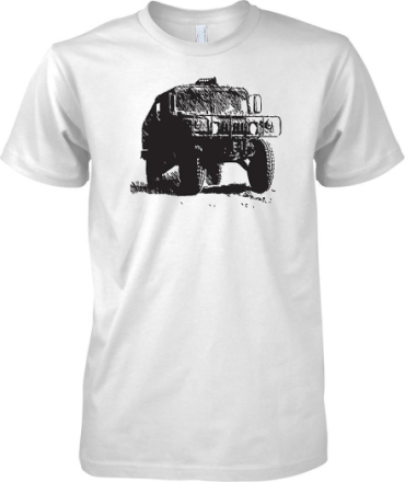 US Army Humvee - bepansrade militärfordon - barn T Shirt