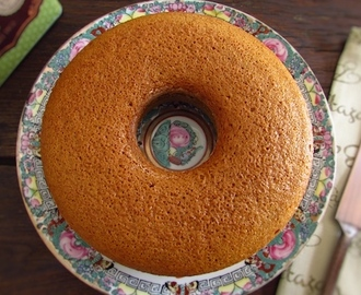 Bolo de laranja e açúcar mascavado | Food From Portugal
