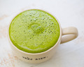Peppermint Delicious Matcha Latte