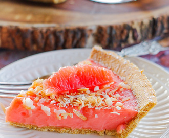 Ruby Red Grapefruit Tart