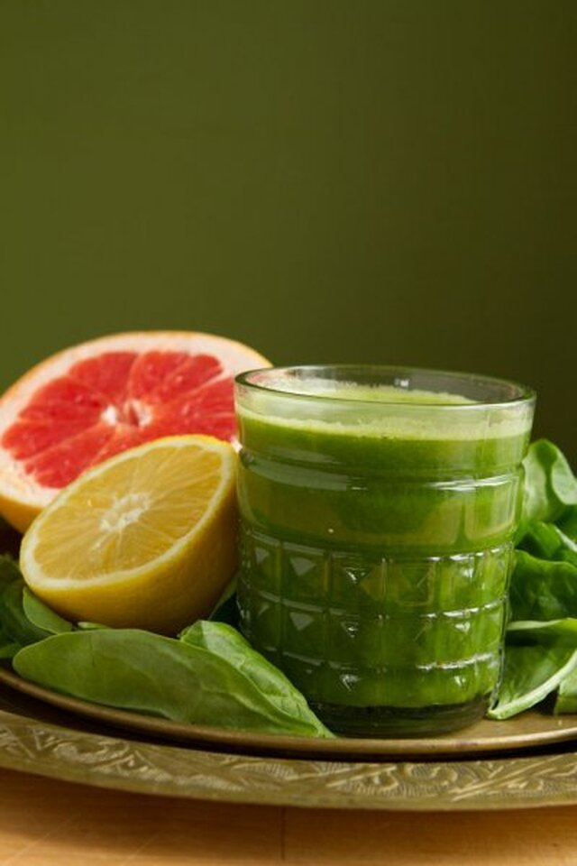 Blushing Greens Juice