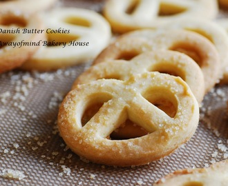 Danish Butter Cookies 2016 丹麦牛油饼干