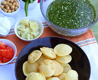 Panipuri or Golgappa Recipe- Popular Indian Street Food