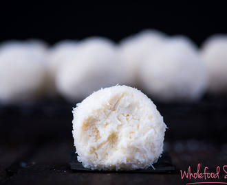 Coconut Cheesecake Truffles