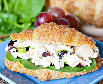 Easy Chicken Caesar Salad Sandwich Recipe