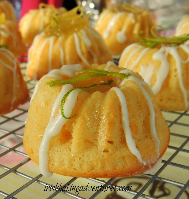 "LEMON & LIME ""MOJITO"" BABY BUNDTS"