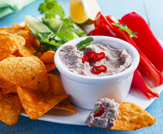 Refried Bean Dip Recipe