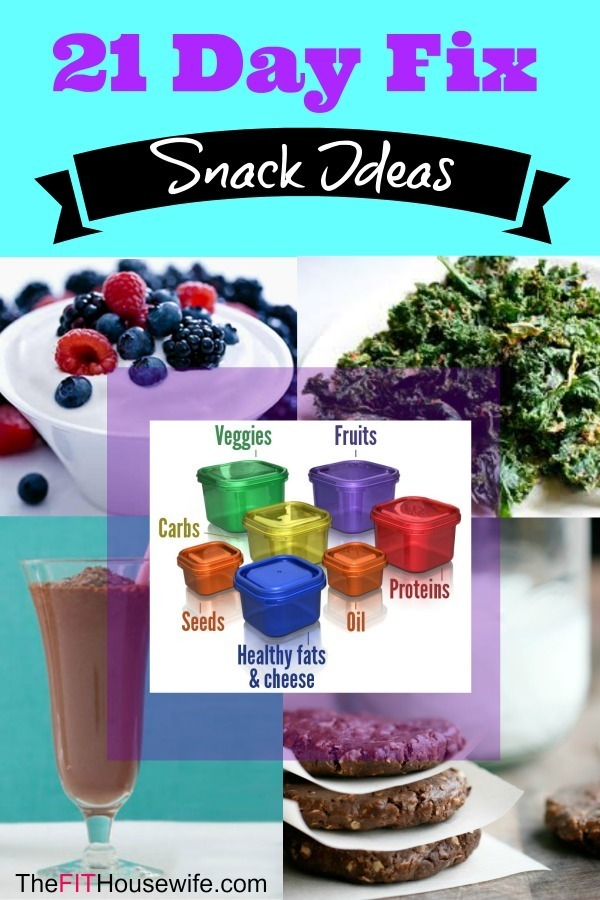 21 Day Fix Snack Ideas