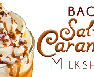 Bacon and Salted Caramel Milkshake
