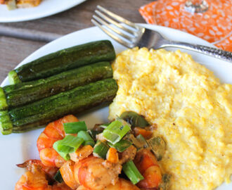 Clean Shrimp and Grits Recipe (with Old Bay Seasoning)