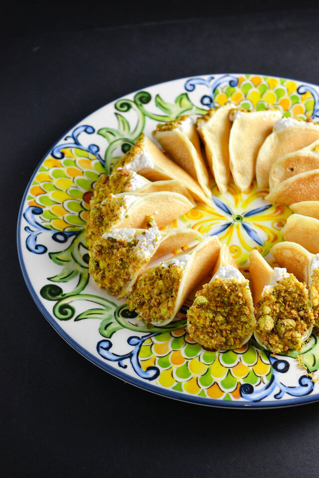 Atayef Asaferi, Arabic Pancakes {Secret Recipe Club}