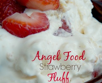 Angel Food Strawberry Fluff
