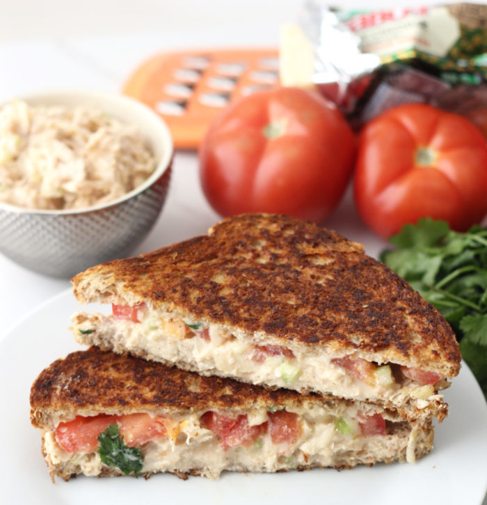 Chicken Salad Grilled Cheese