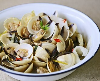 Thai Style Spicy Clams
