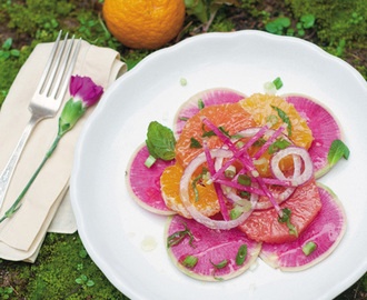 Watermelon Radish Salad Recipe