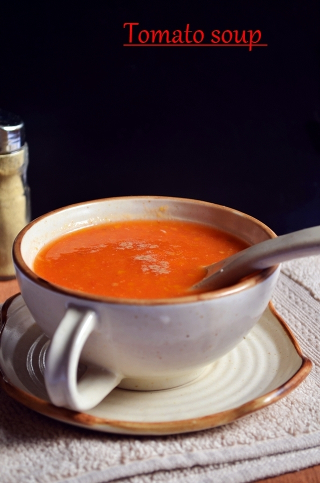 Tomato soup recipe,how to make tomato soup | Winter/monsoon recipes