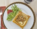 Individual Savory Apple, Blue Cheese & Walnut Tarts
