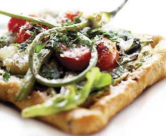 Grilled Vegetable Tart Recipe