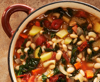 Portuguese White Bean & Kale Soup Recipe