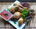 Kai Tod Nam Pla  / Gefituurde gemarineerde kip met vissaus/ Deep Fried Chicken Marinated with Fish Sauce