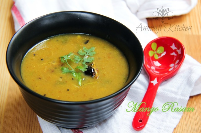 Mango Rasam Recipe | Mamidikaaya Rasam |  | How to make Mango Rasam
